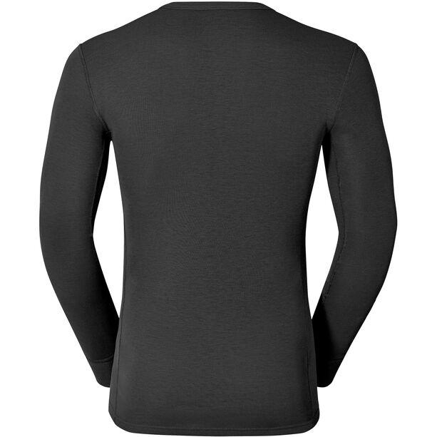 Odlo Warm Shirt LS Crew Neck Herren black