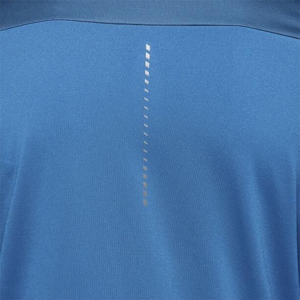 asics Windblock LS Half-Zip Hemd Herren mako blue/deep sapphire