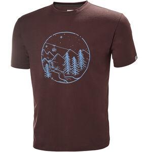 Helly Hansen Skog Graphic T-Shirt Herren andorra andorra