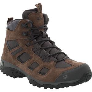 Jack Wolfskin Vojo Hike 2 Texapore Mid Shoes Herren dark wood dark wood