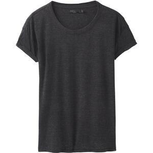 Prana Cozy Up SS T-Shirt Damen charcoal heather charcoal heather