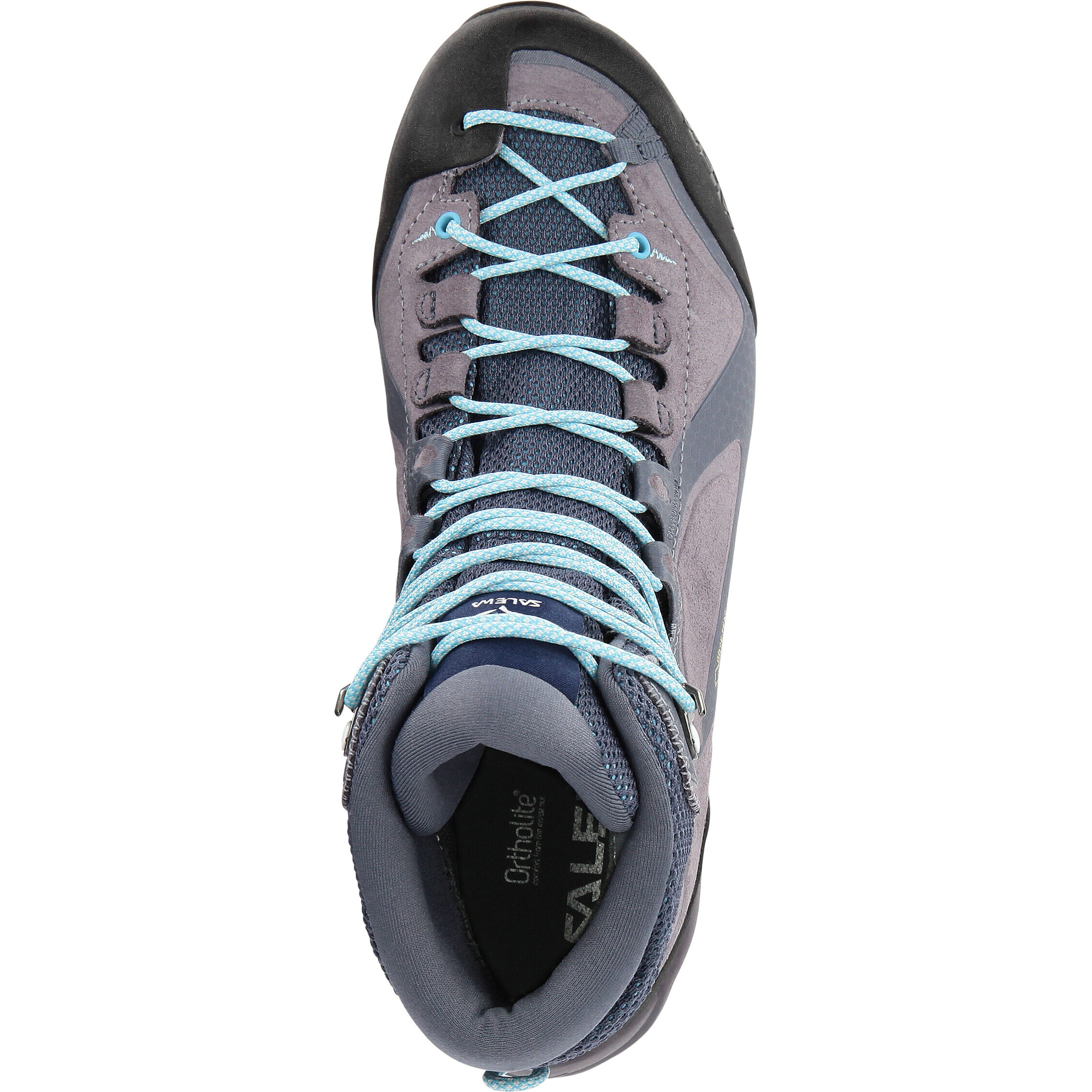 SALEWA Alpenviolet Mid GTX Women grisaille ethernal blue