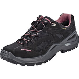 Lowa Sirkos GTX Shoes Damen black/rose black/rose