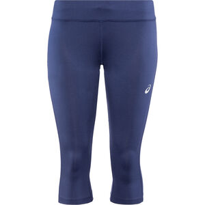 asics Silver Knee Tights Damen indigo blue indigo blue