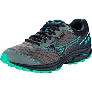 Mizuno Wave Rider GTX Running Shoes Damen gunmetal/black/billard gunmetal/black/billard