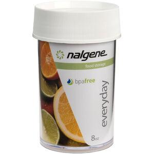 Nalgene Polycarbonat Dose 250ml white white