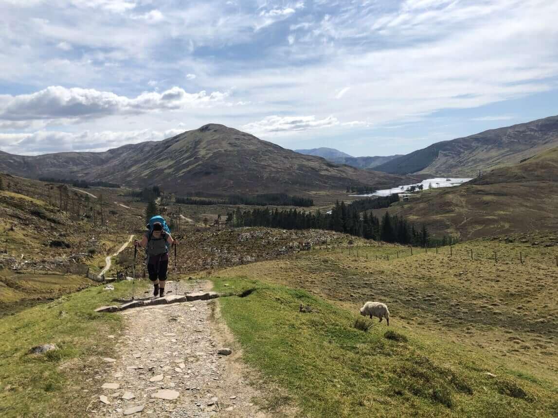West Highland Way - Tag 7 - Von Kinlochlevan nach Fort William