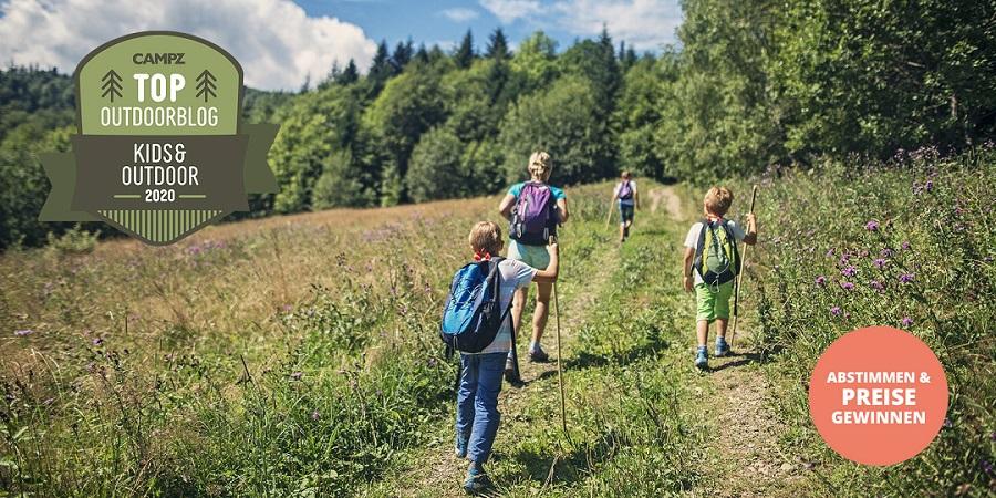 CAMPZ Blogwahl 2020 - Kategorie »Kinder & Outdoor«