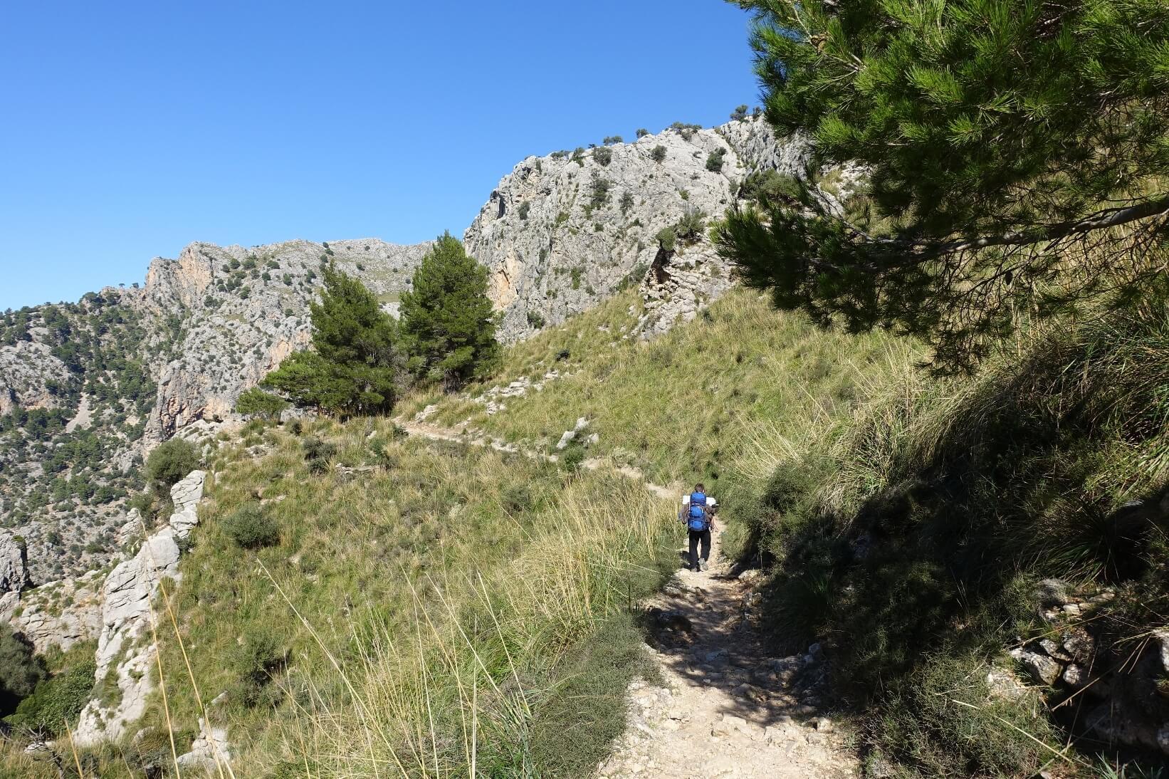 Auf dem GR221 durchs Tramuntana Gebirge auf Mallorca