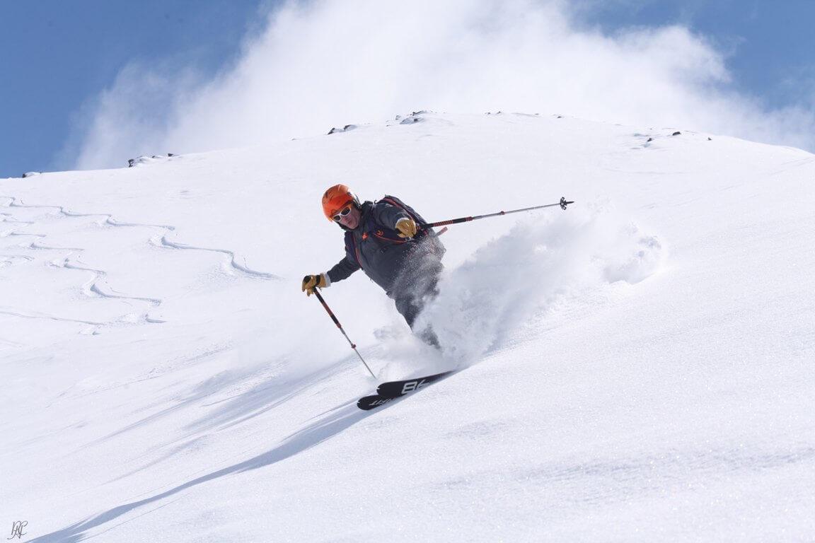 Freeriden im Powder
