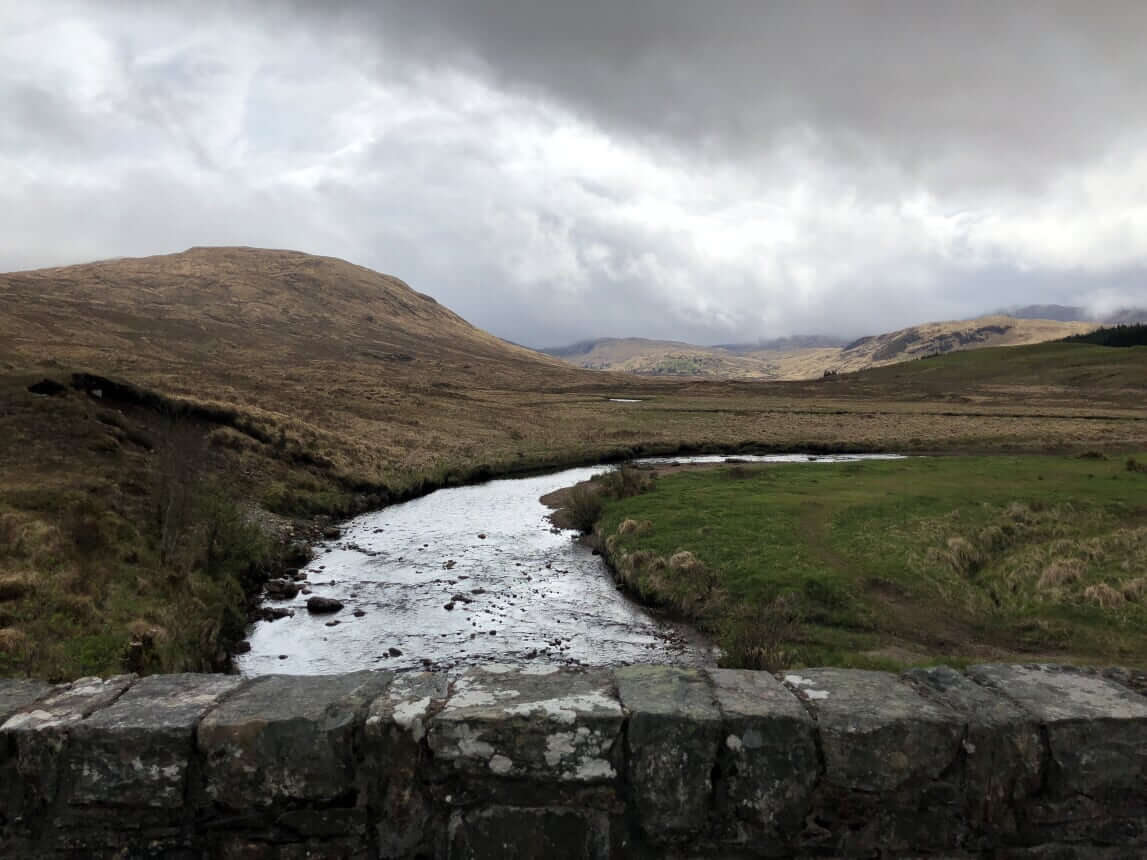 West Highland Way - Tag 5 - Von Tyndrum nach Inveroran