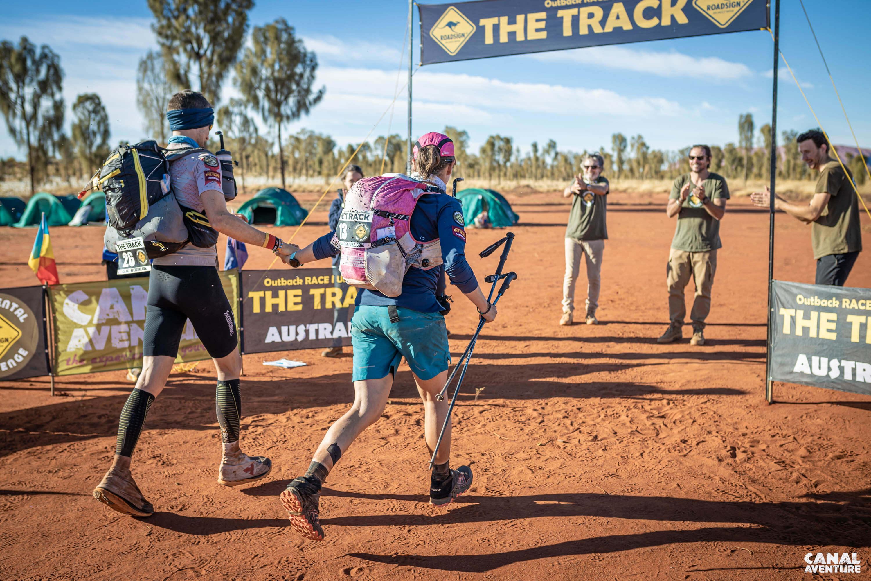 Laufen im australischen Outback - Laufen ins Ziel hinein