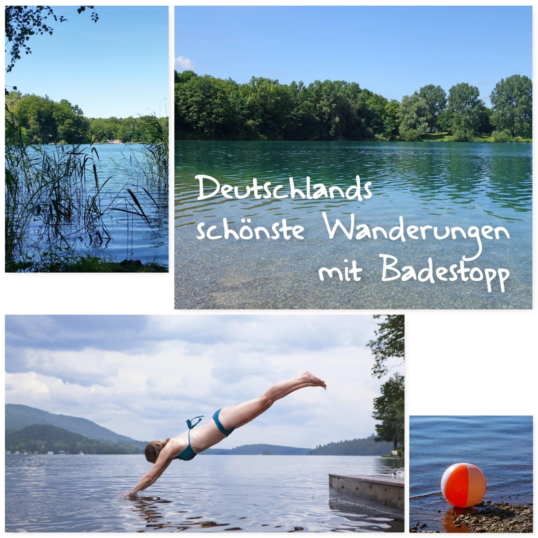 Deutschlands schönste Wanderungen mit Badestopp