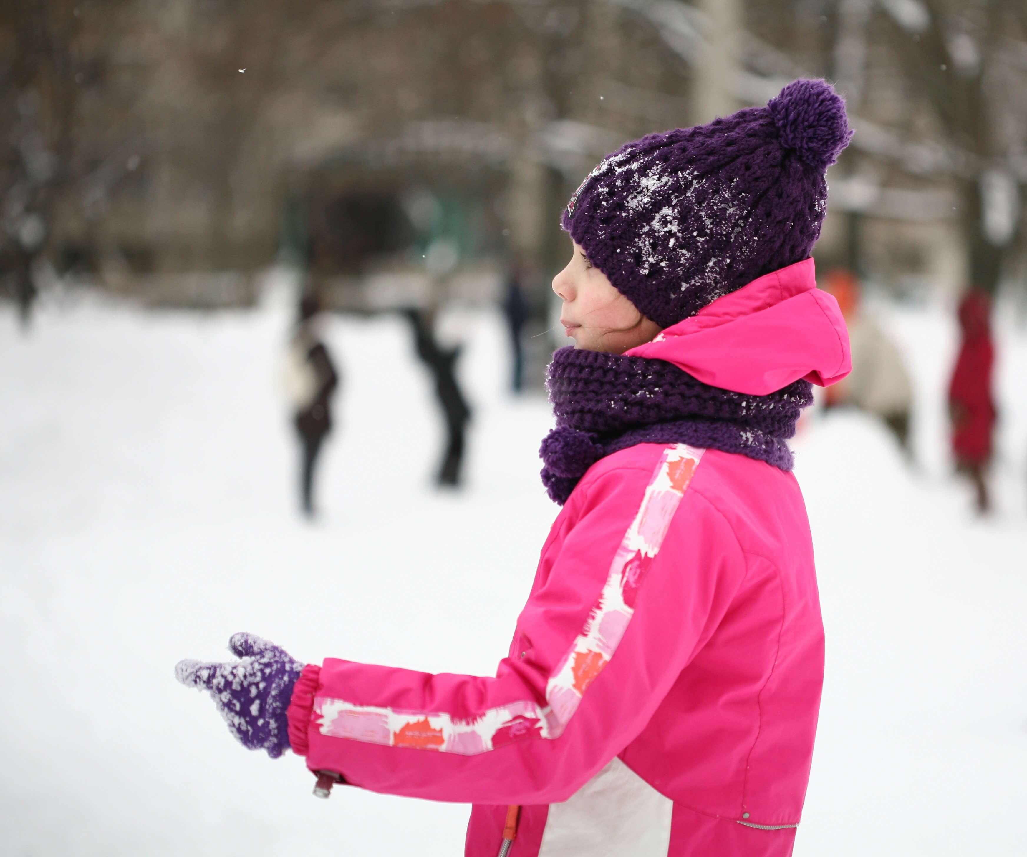 Funktionelle Winterbekleidung für Kinder - Mütze
