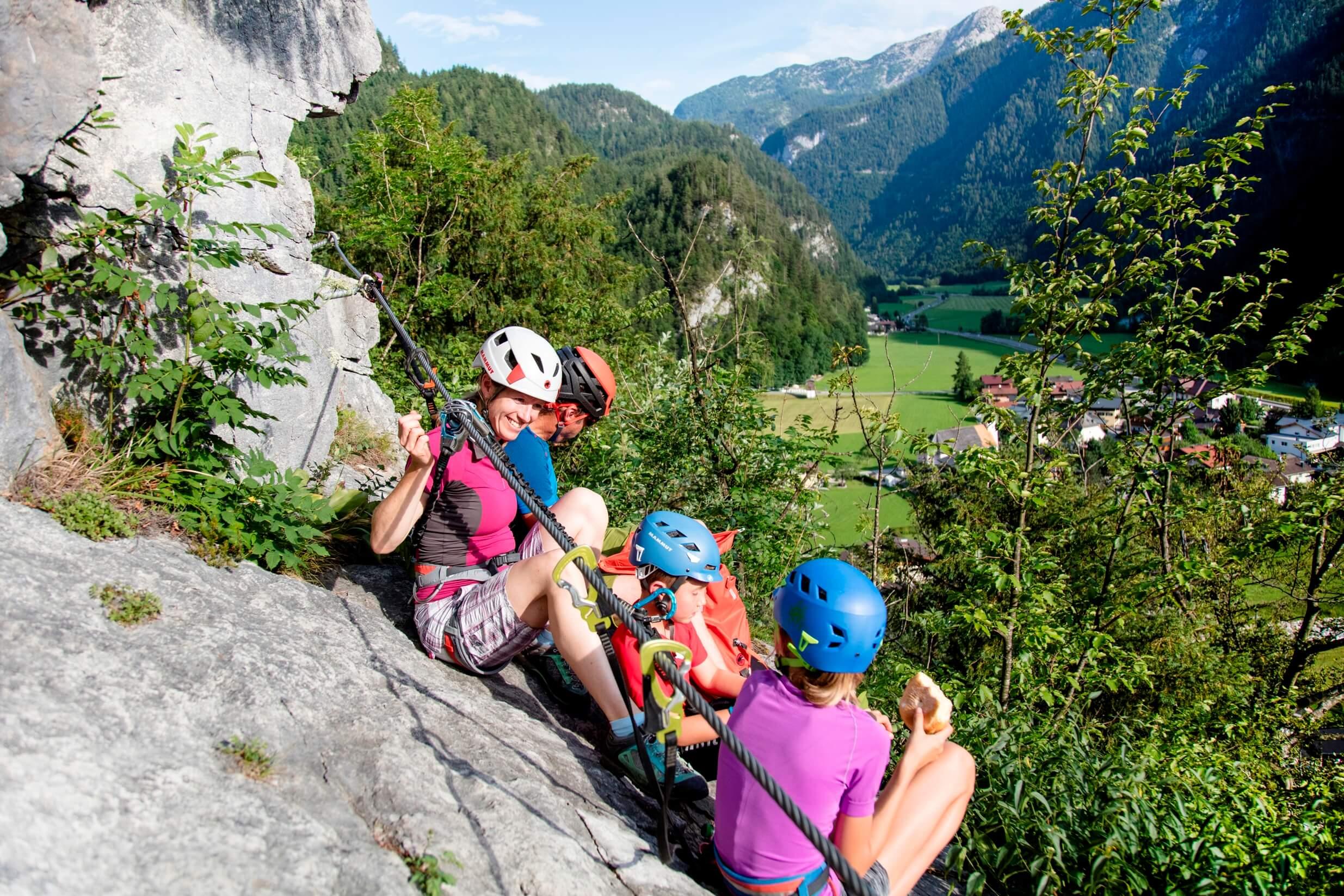Klettersteig Zahme Gams, Salzburger Saalachtal