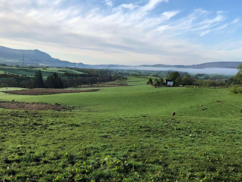 West Highland Way - Tag 2 - Von Drymen nach Sallochy
