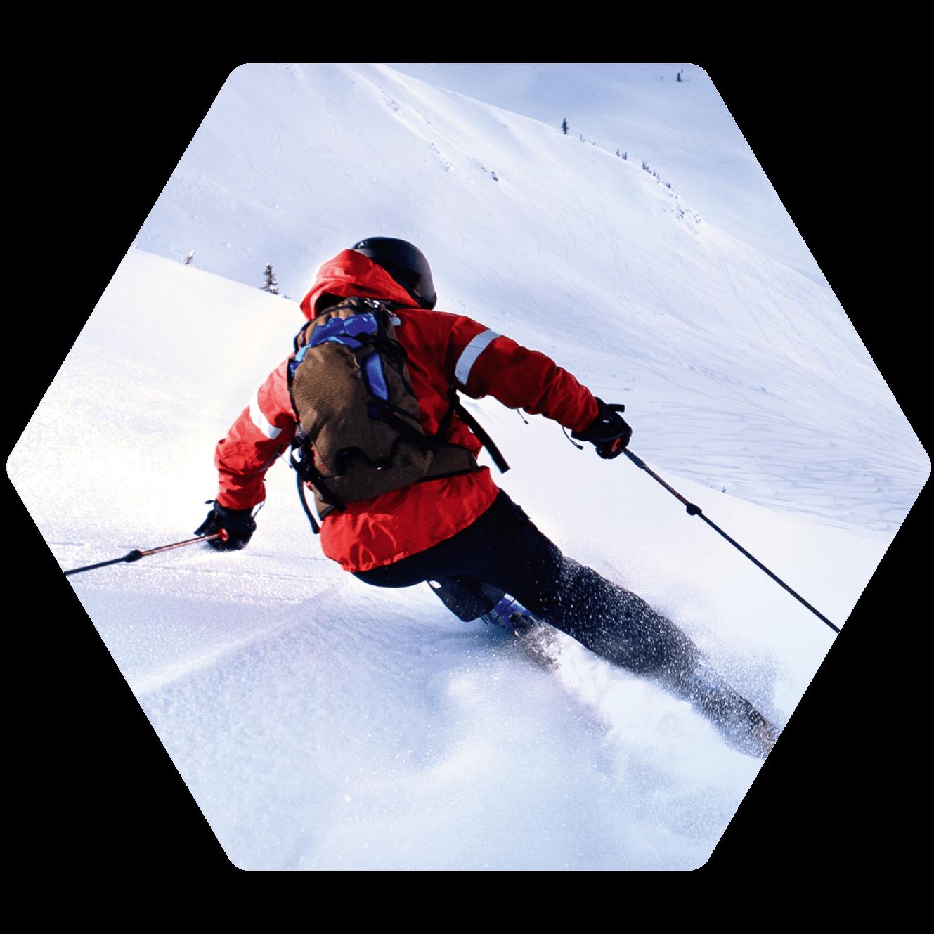 Ski fahren mit Casio Pro Trek