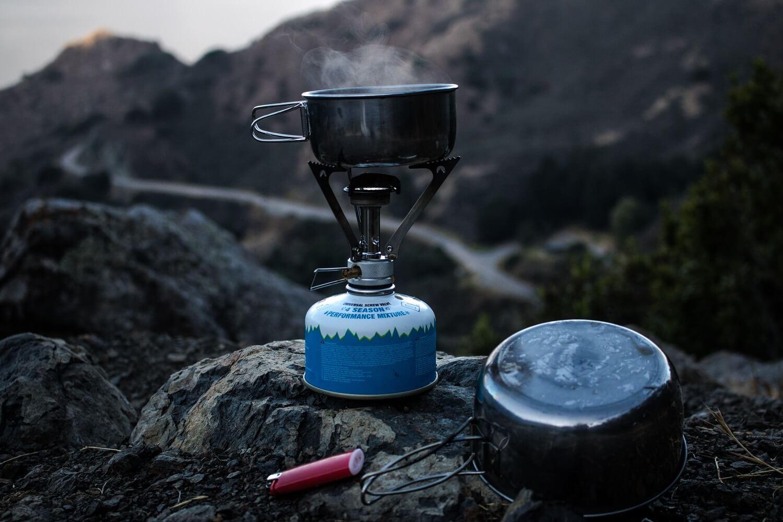 Kochen mit dem Campingkocher