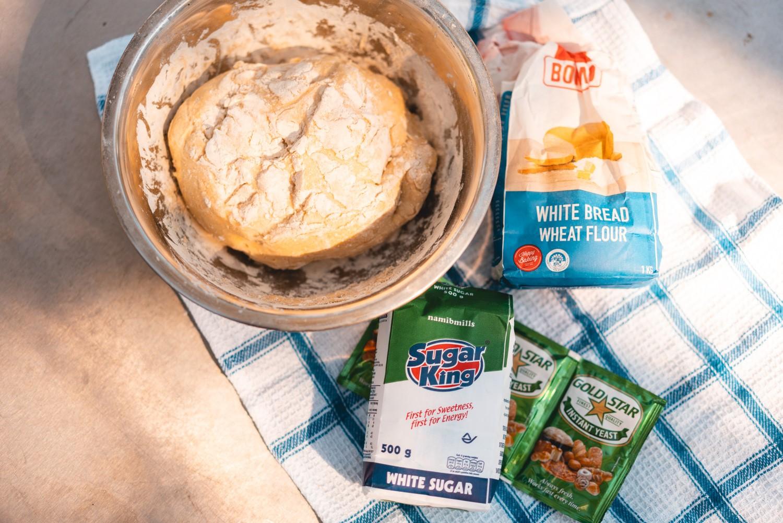 Zutaten für den Brotteig