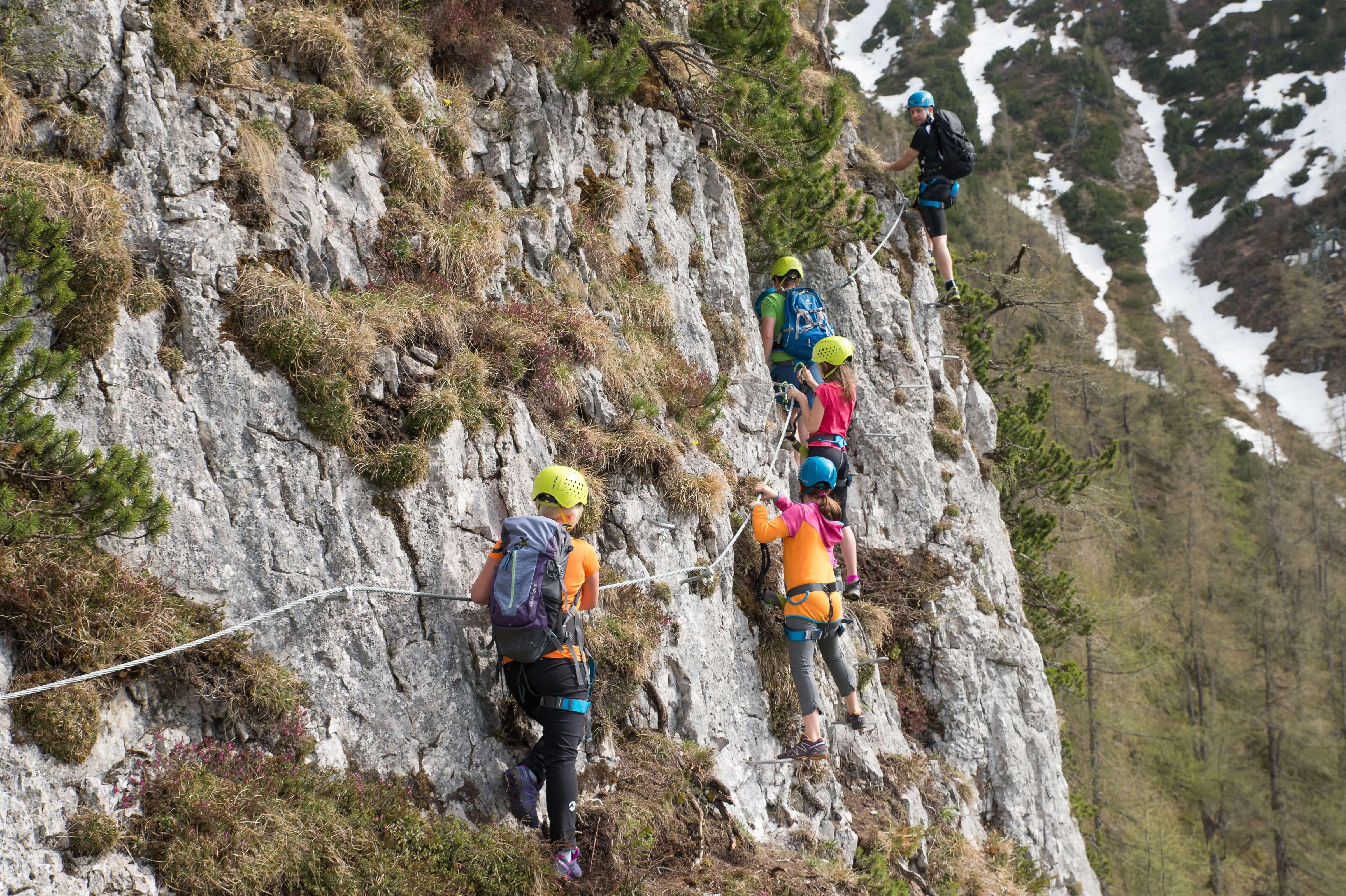 Klettersteig Schützensteig am Kleinen Jenner, Berchtesgadener Land