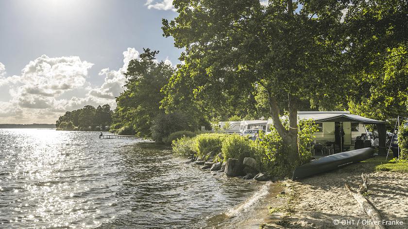 Camping an den 12 schönsten Seen Deutschlands