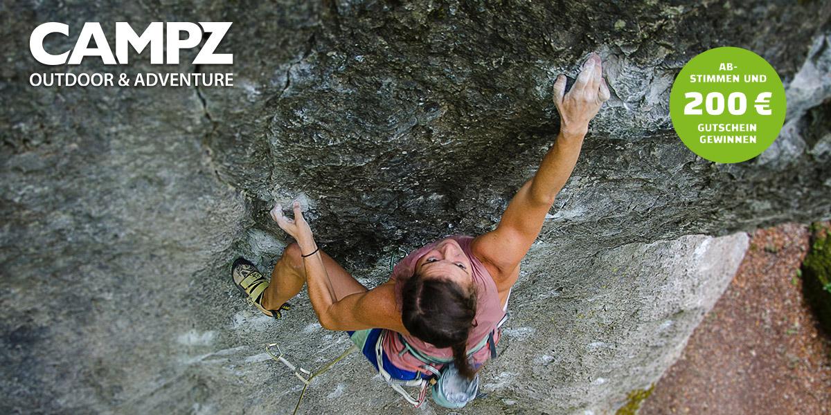 CAMPZ Top Outdoorblog 2019 - Klettern & Bouldern