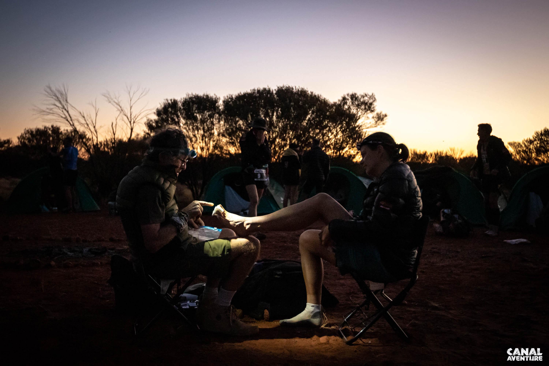 Laufen im australischen Outback - Rennarzt Bruno verarztet