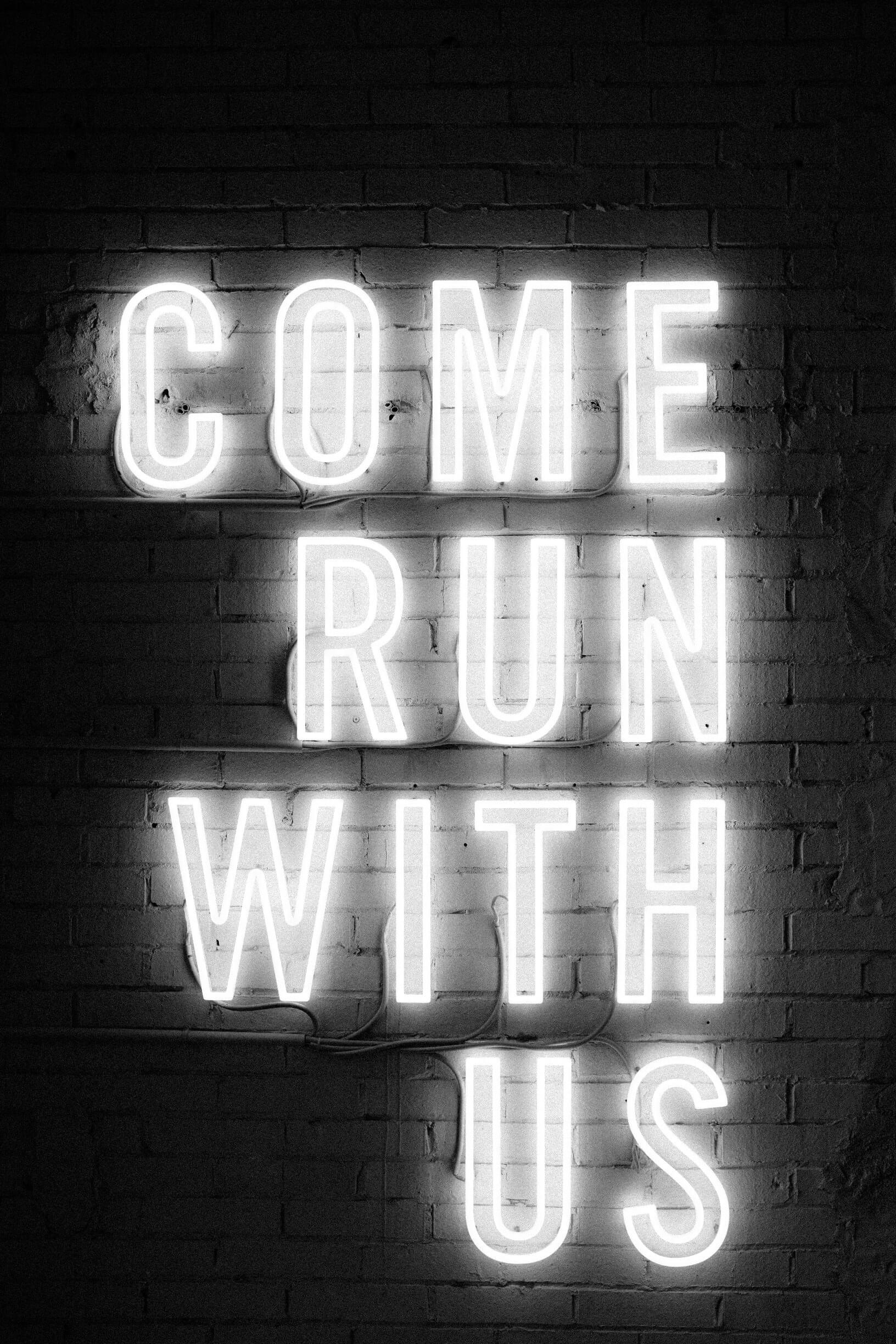 Motivation - Come Run With Us
