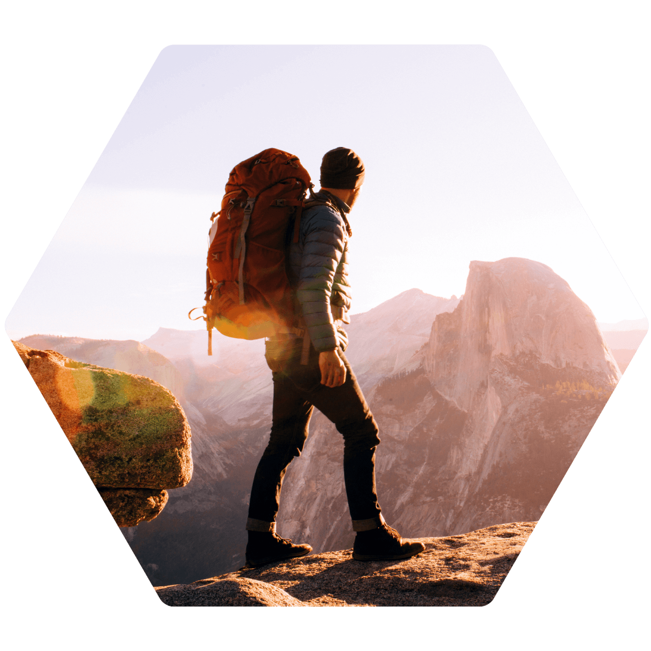 Wanderer mit Casio Pro Trek