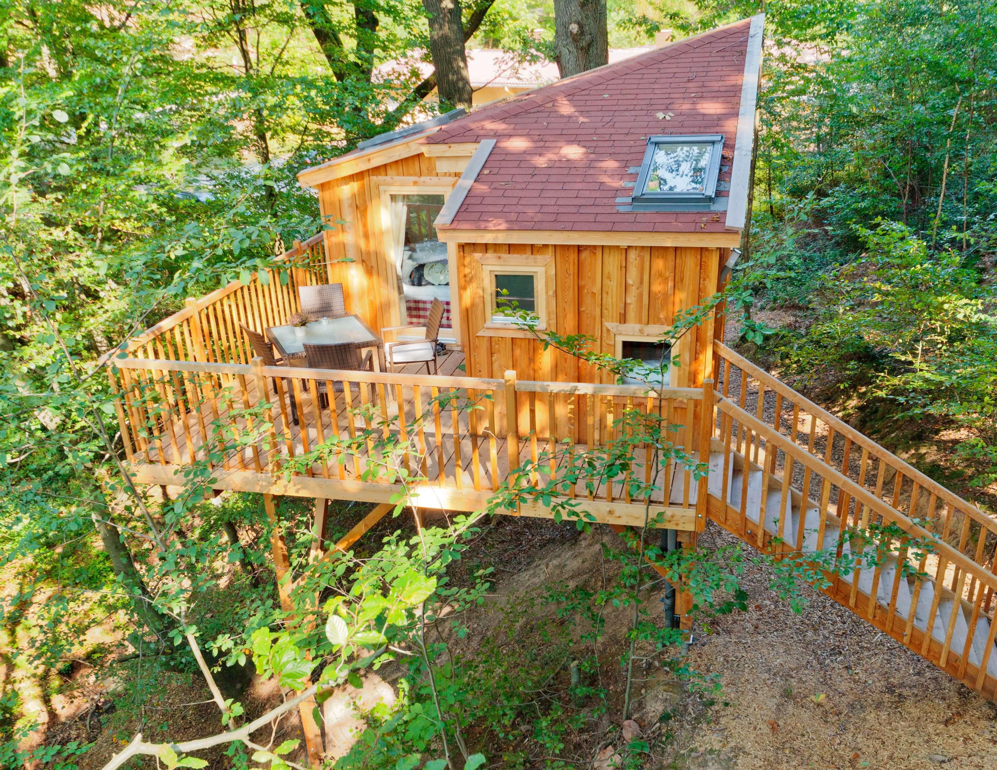 Mini-Abenteuer - Eine Nacht im Baumhaus