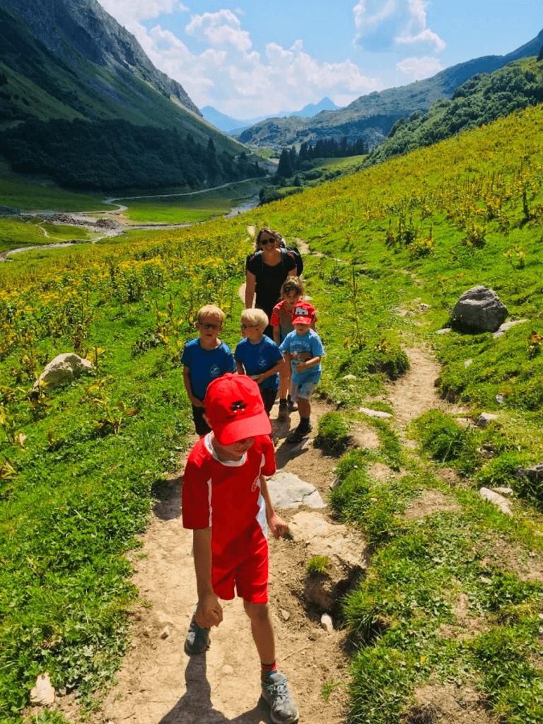 Zur Ravensburger Hütte - auf dem Weg zur Hütte