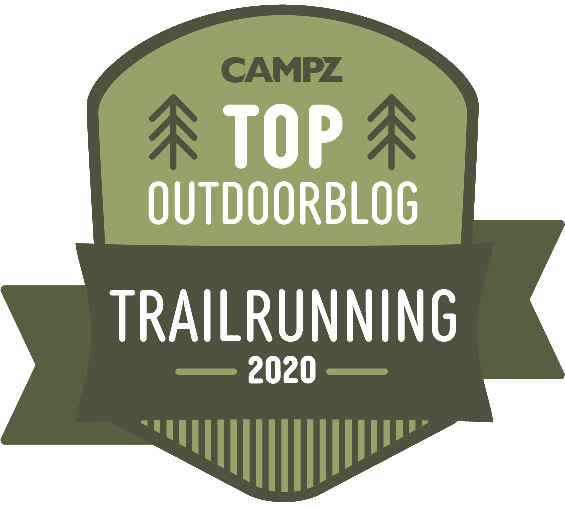 Siegel Top Outdoorblog 2020 in der Kategorie Trailrunning
