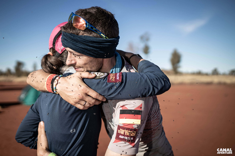 Laufen im australischen Outback - überwältigt und überglücklich