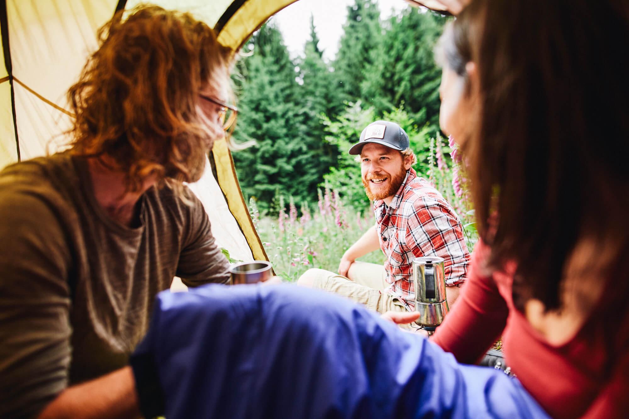 Trekking Deutschland: Camp auf dem Soonwaldsteig