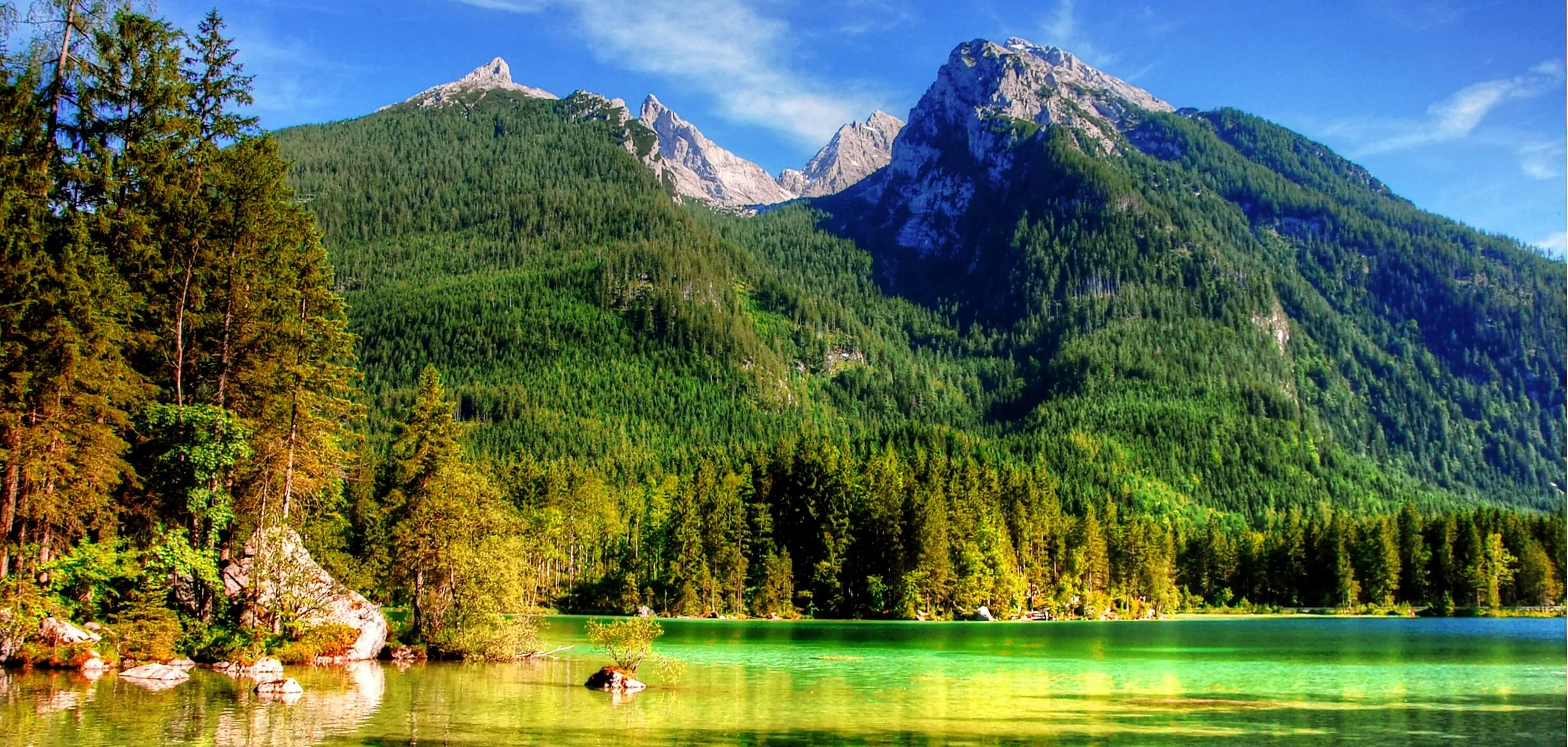 Wandern in Deutschlands Nationalparks