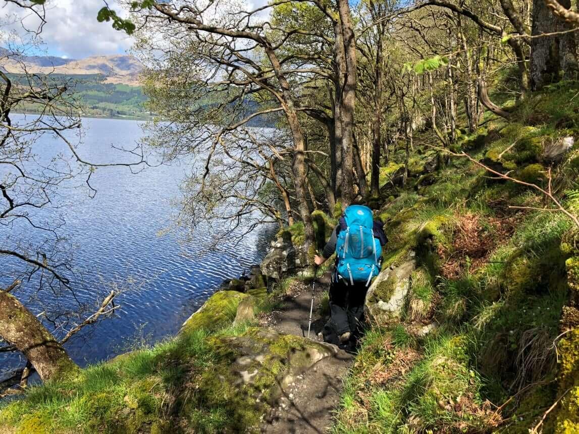West Highland Way - Tag 3 - Von Sallochy nach Inverarnan