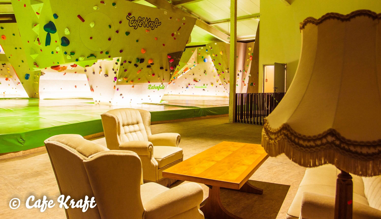 Top Boulderhalle - Boulderhalle Cafe Kraft Stuttgart