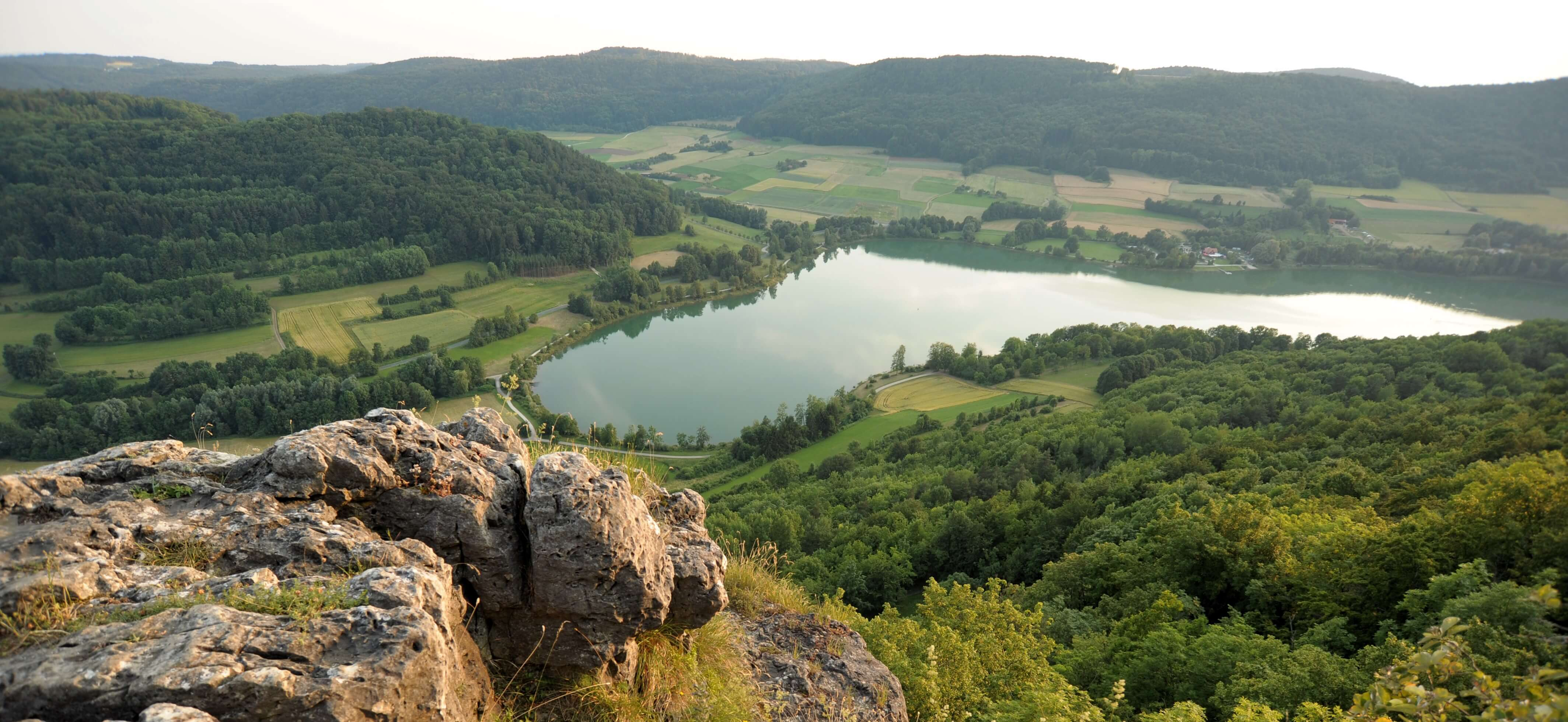 Happurger See im Frankenland