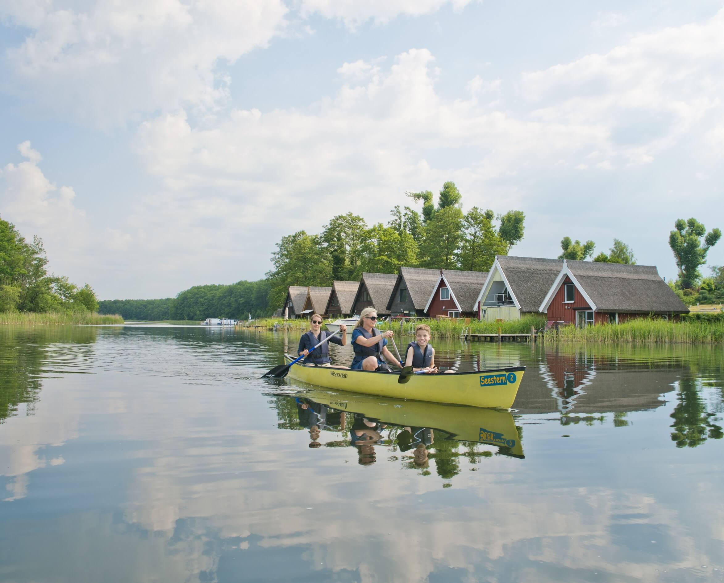 Kajaktour: In der Mecklenburgischen Seenplatte