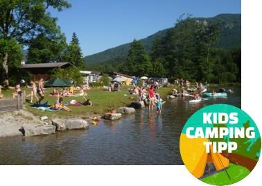 Kids Camping Tipp - Campingplatz Zellersee