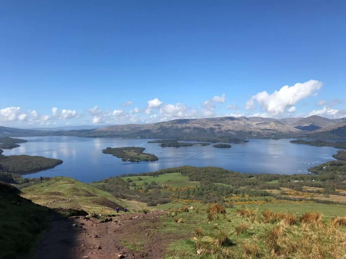 West Highland Way - Tag 2 - Loch Lomond