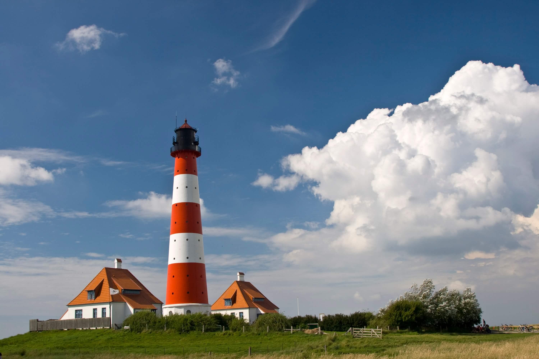 Nationalpark Wattenmeer Schleswig-Holstein - Leuchtturm Westerhever