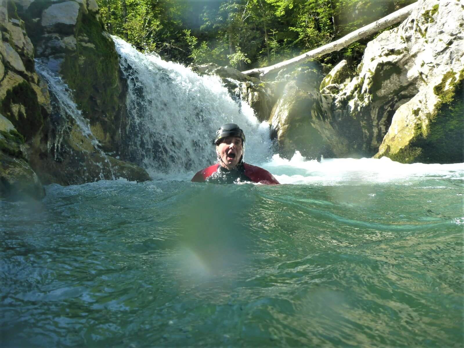 Canyoning Tour in Lenggries am Sylvensteinsee