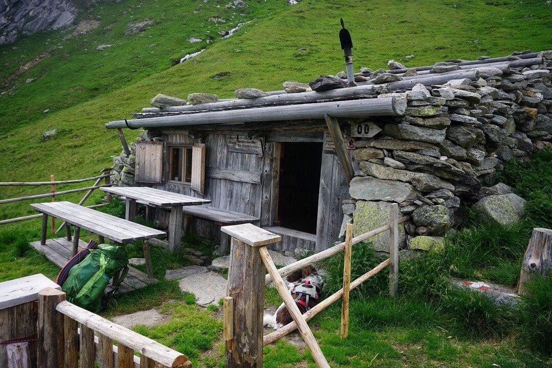 Pfunderer Höhenweg Etappe 3 - Brenninger-Biwak