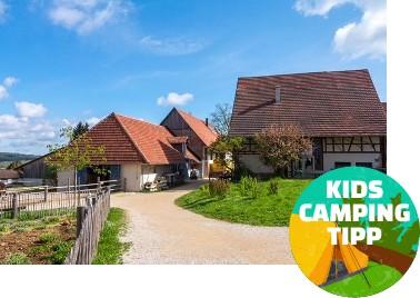 Kids Camping Tipp - Hofgut Hopfenburg