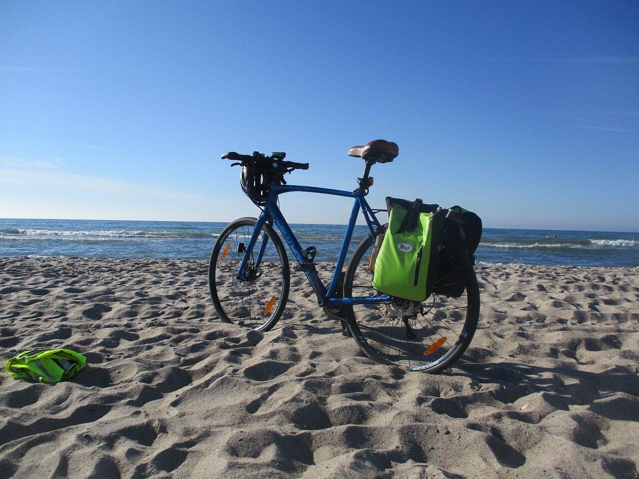 Bikepacking Tour zur Ostsee - am Ziel