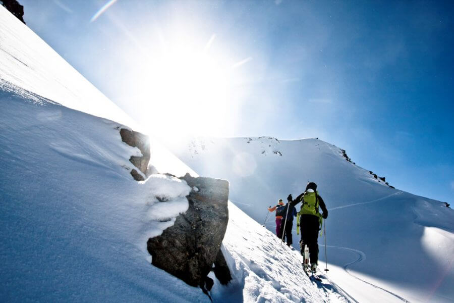 Freeridecamps von The Freeride Experience