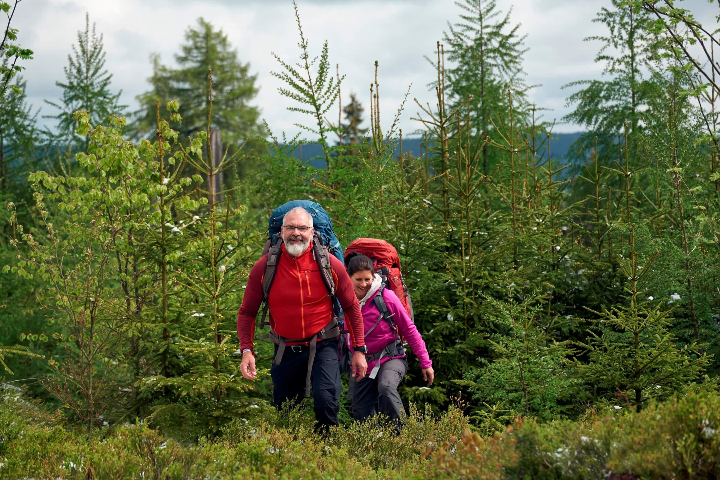 Trekking Deutschland: Wanderung im Frankenwald