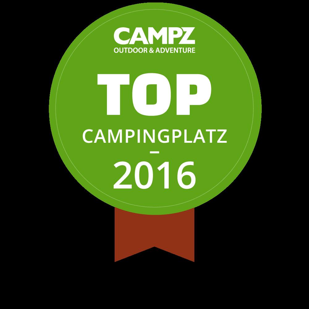 Siegel - Top Campingplatz 2016