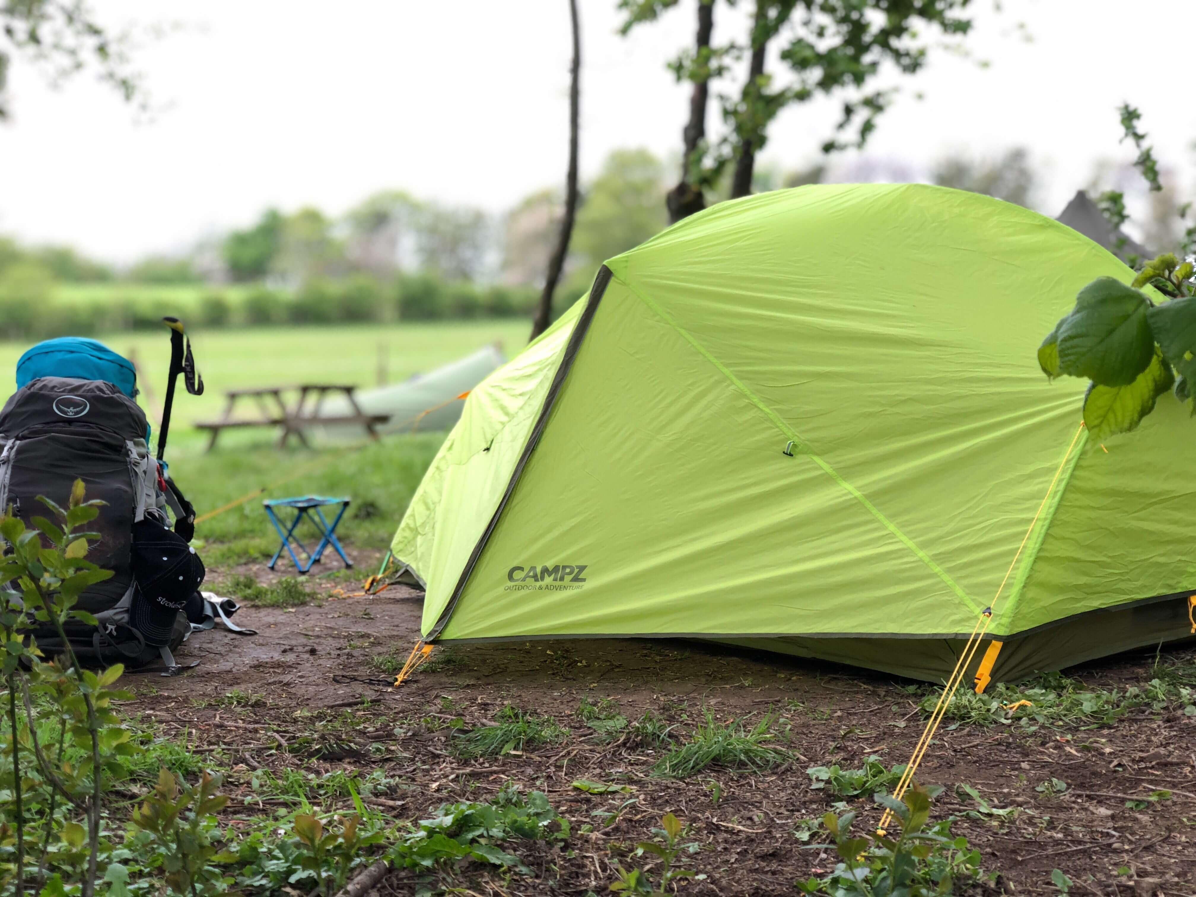 West Highland Way - Tag 1 - Drymen Camping
